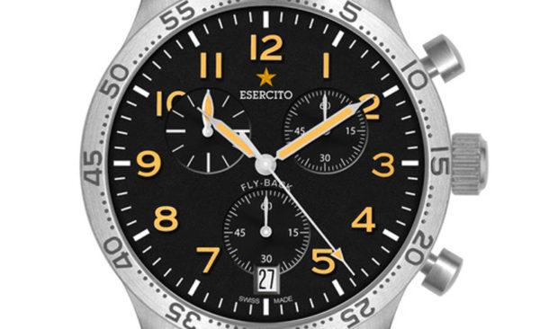 ESERCITO1659 - Mod. Type 21 - Chrono Quarz FlyBack - Orologio al Quarzo Cronografo