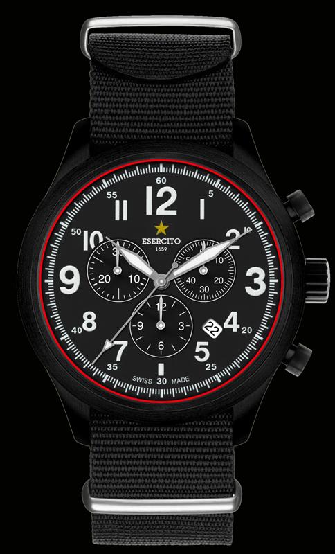 ESERCITO1659 - Mod. Fortune - Chrono Quarz - Orologio al Quarzo Cronografo